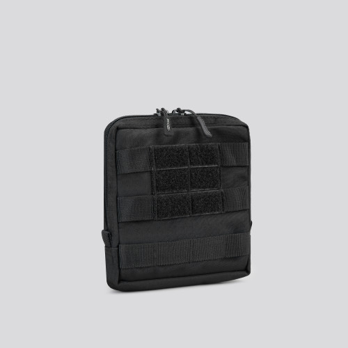 Army Medium Square Tactical Pouch - Stealth Black