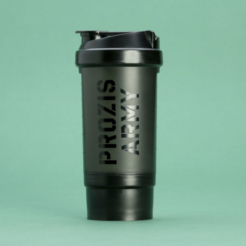 Shaker Army - Black 500 ml