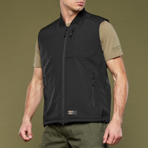 Army Special Ops Colete Softshell - Black