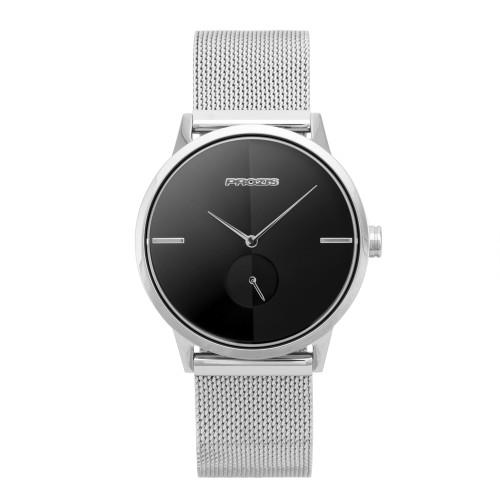 Montre  - Split-Second Mercury Silver