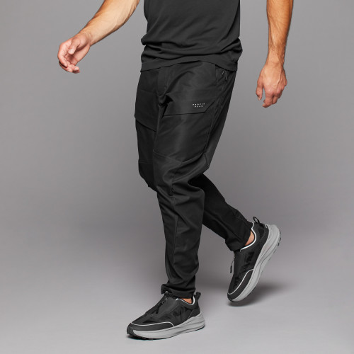 Peak Fisher Cargo Pants - Black