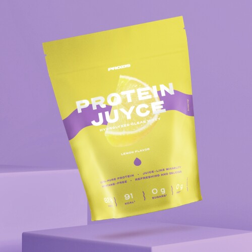 Protein Juyce - Hydrolyzed Clear Whey 500 g Lemon