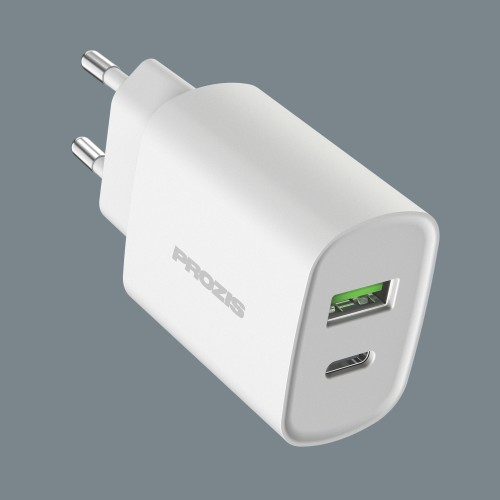 Fluxr - QC 3.0 & USB-C Charger - White