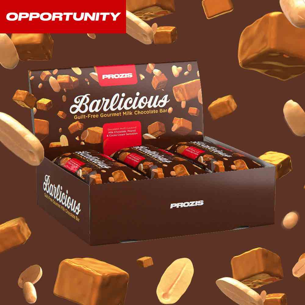 6 x Barlicious Protein Bar 65 g Opportunity