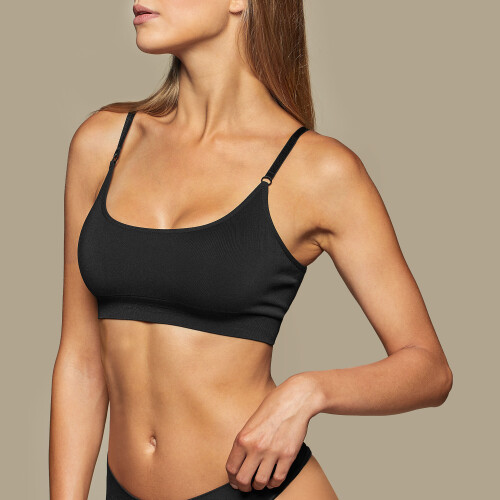 Daily Seamless Bra - Black