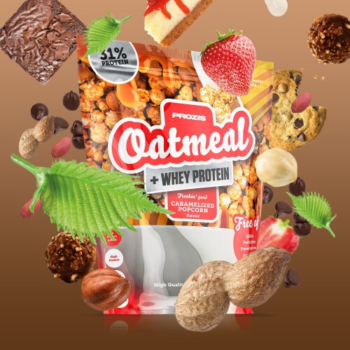 Oatmeal + Whey - Avoine et whey 2000 g