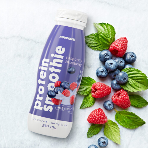 Protein Smoothie - Framboesa e Mirtilo 330 ml