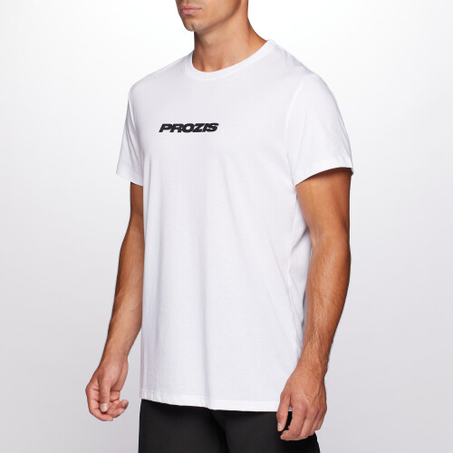 Script Men T-shirt - White
