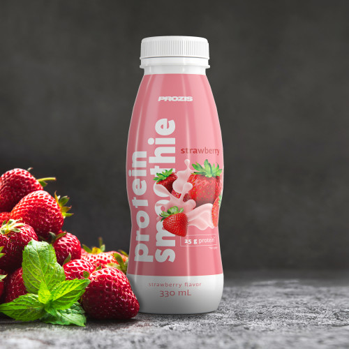 Protein Smoothie - Strawberry 330 ml