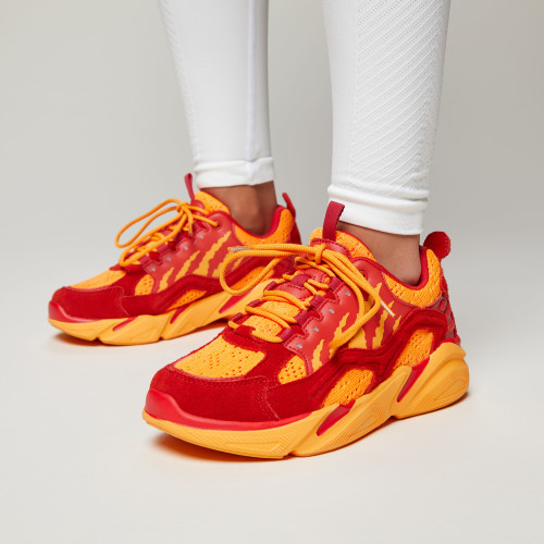 Crush Alpine Sneakers - Vesuvius Red