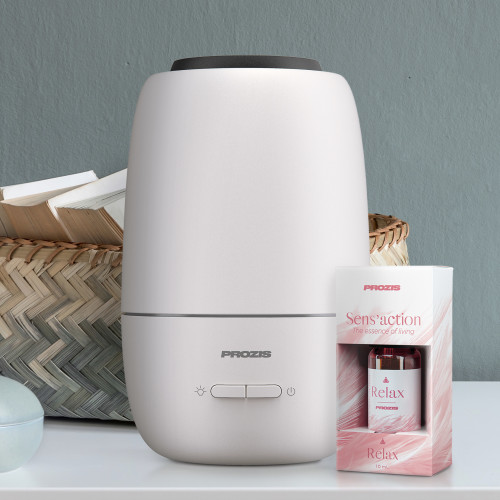 Essence Aroma Diffuser & Humidifier + Sens'action - Essential Oil Relax