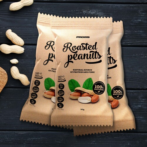 3 x Roasted Peanuts 30 g