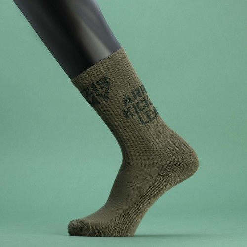 Army Combat Quarter Socks - Olive Green