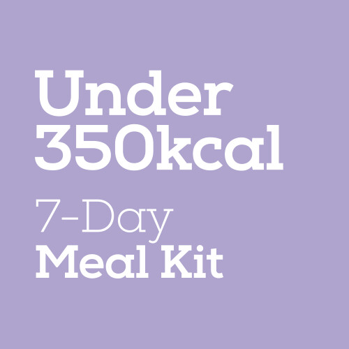 Under 350Kcal - 7-Day Meal Kit