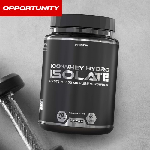 100% Whey Hydro Isolate 900 g - Opportunity