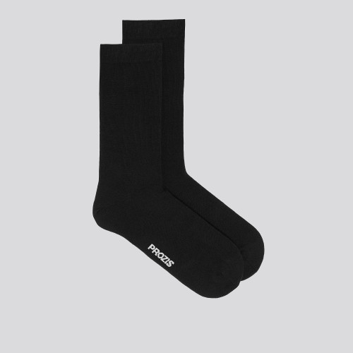 Low-Key Crew Socks - Black