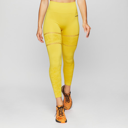 Leggings X-Skin Haikela - Sulphur