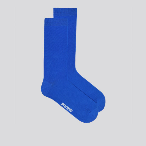 Low-Key Crew Socks - Blue
