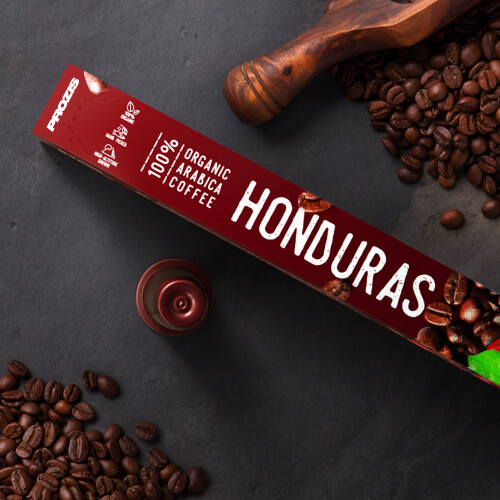100% Organic Arabica Coffee - Honduras 20 caps