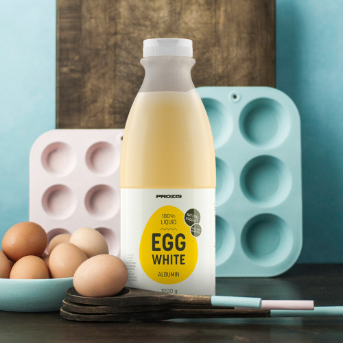100% Liquid Egg White - Albumina 1000 g