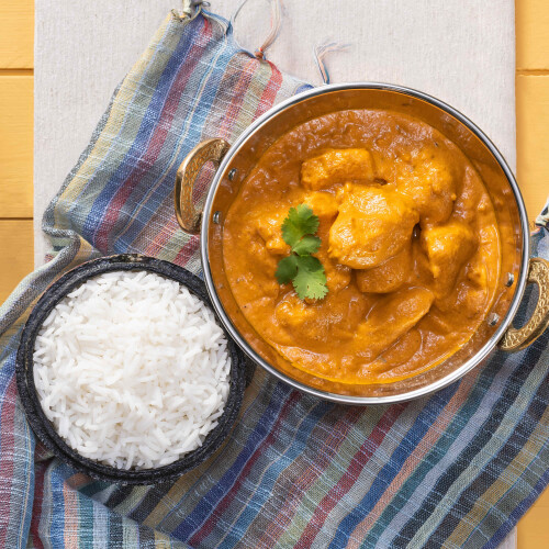 Authentic Indian Butter Chicken & Basmati Rice