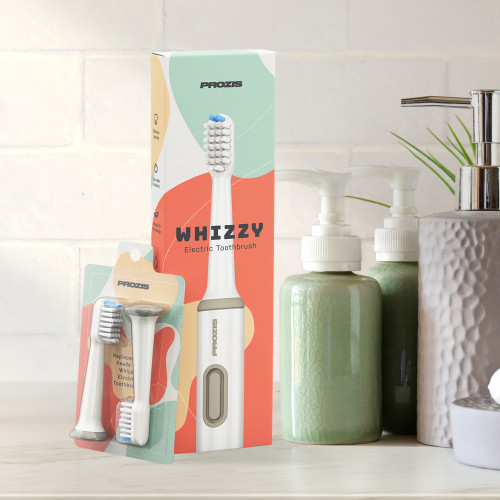 Whizzy Toothbrush - Sparkly White Kit