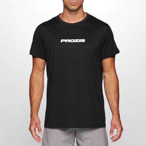 T-Shirt Script Men - Black