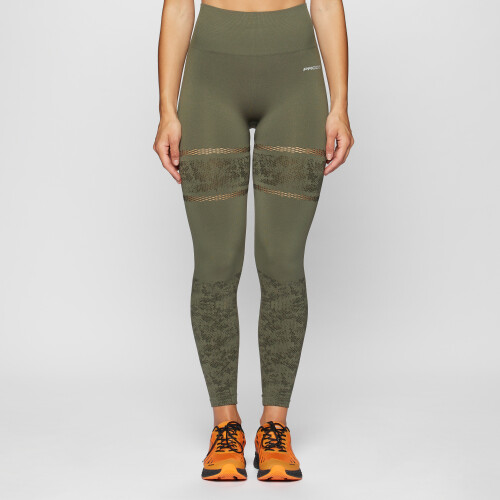 Leggings X-Skin Haikela - Olive Night