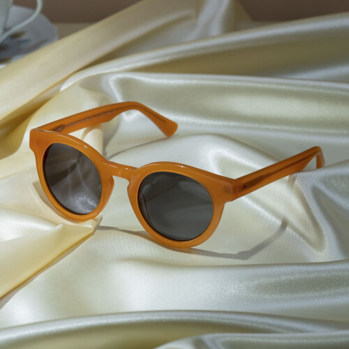 Lake Sunglasses - Pumpkin Orange