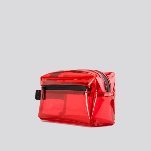 Wash Bag - Travel Bubble Red