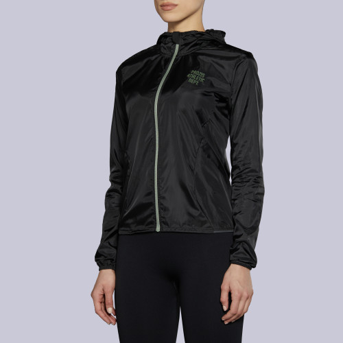 Athletic Dept. Lead Blocker W Windbreaker - Black
