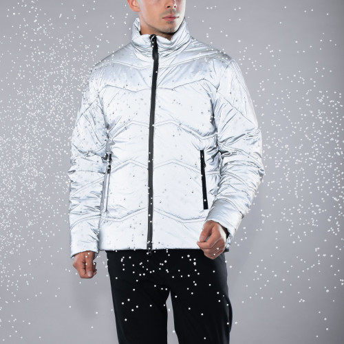 Peak Puffer Jacket - Summit Reflective
