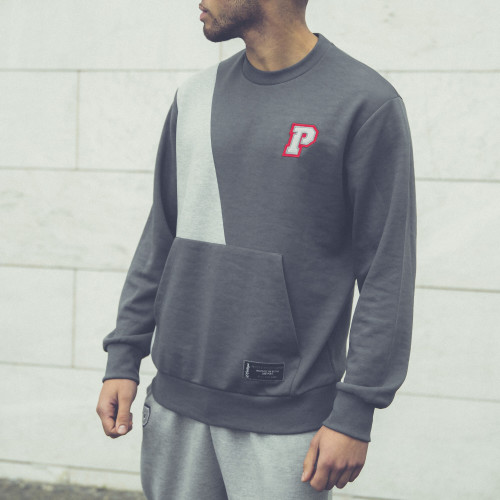 Sweat-shirt X-College - Campustown Grey