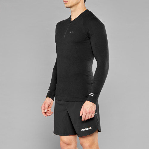 Peak Kojima Langarm Baselayer - Night