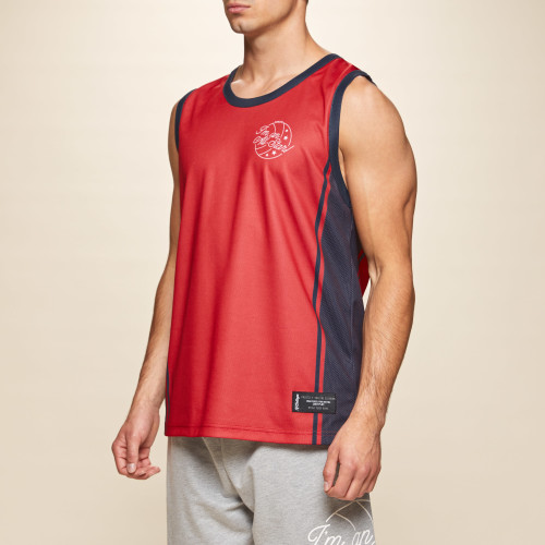 X-College Reversible Tank Top - Davis Red