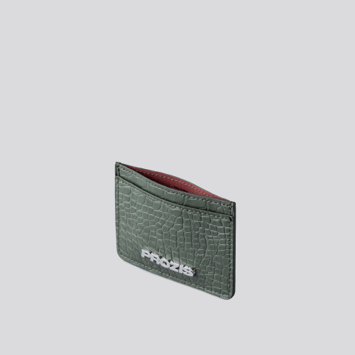 Cardholder - Crauxcodile Mud Green