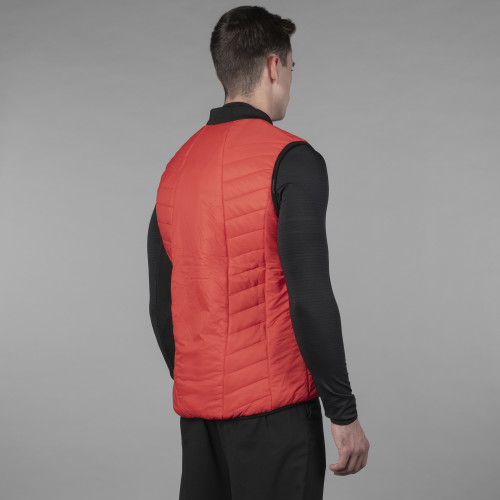 Gilet Doudoune Peak - Powerliner Red
