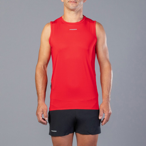 X-Motion Trail Sleeveless T-Shirt - Falcon M Red