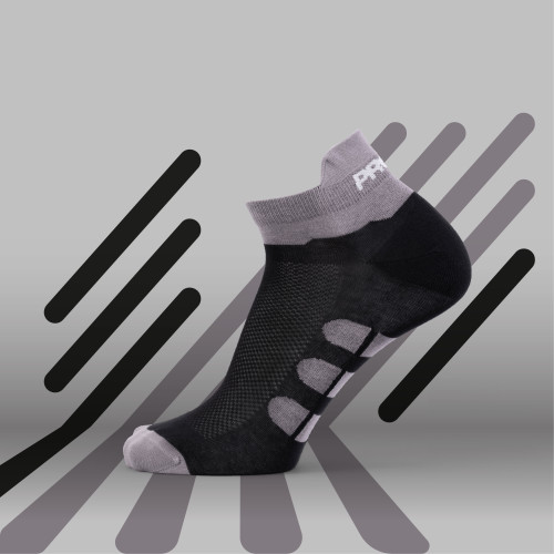 B-Active Trainings-Socken - Solo Black
