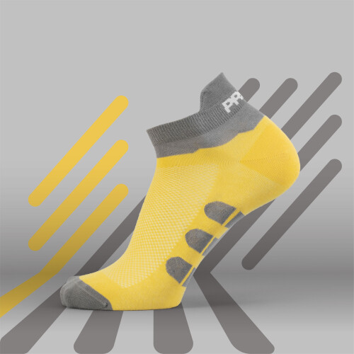 B-Active Trainings-Socken - Solo Yellow