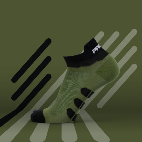 B-Active Trainings-Socken - Solo Olive