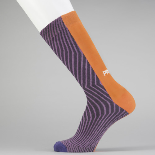 B-Style Socks - Sliced Purple