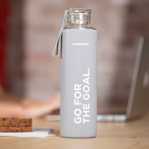 Mantra Glasflasche - Grey 550 ml