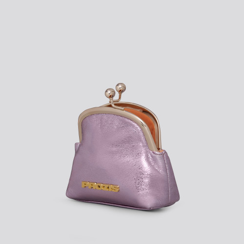 Jessica Coin Purse - Metallic Lilac