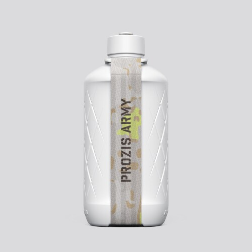 Army Hydra Bottle - 1.8L White/Neon Yellow