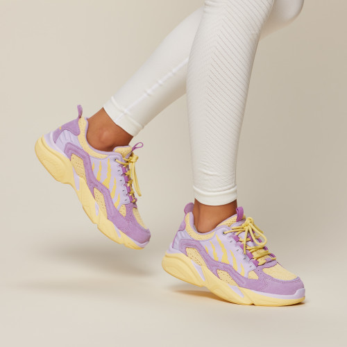 Crush Alpine Sneakers - Lavender Purple
