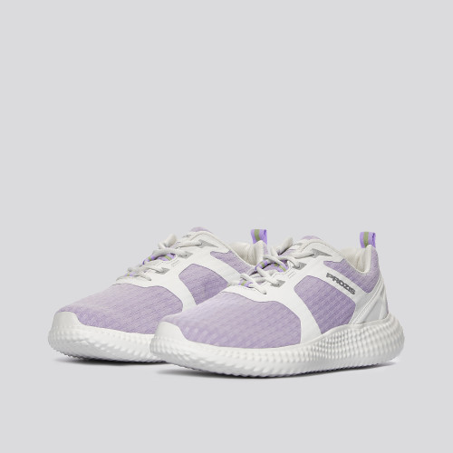 Shredder Sneakers - Lavander Purple / White