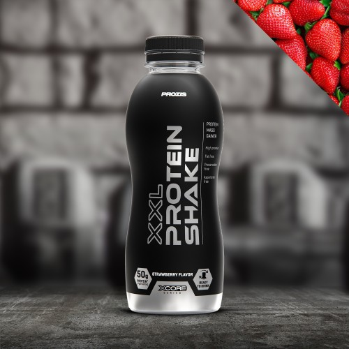 XXL Protein Shake - Strawberry 500 ml