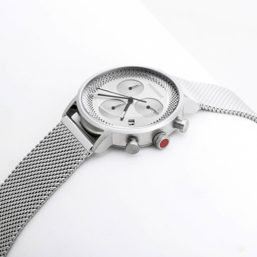 Montre Calibre - Metallic Silver