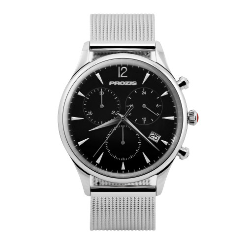 Stellar Executive Watch - Silver
